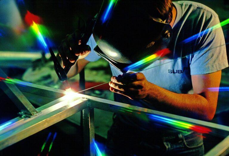 welder, welding, work